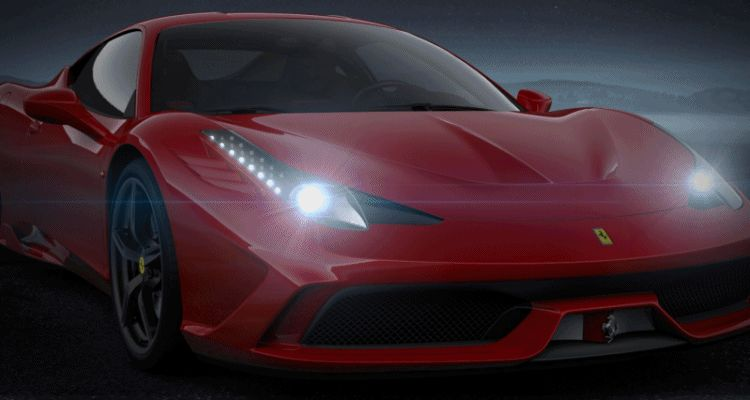 red 458 speciale GIF