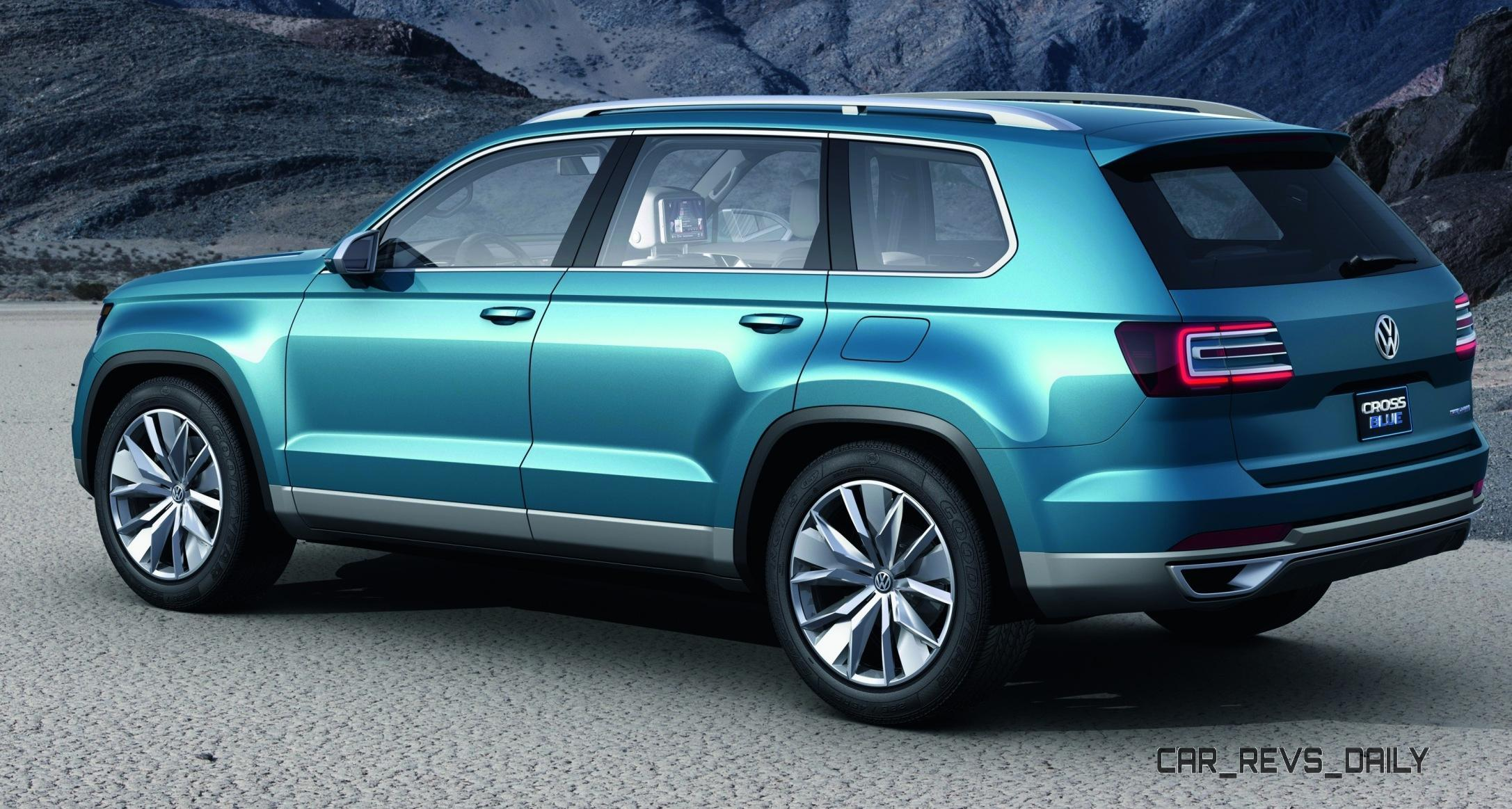 Official: Volkswagen Mid-size SUV Will Seat 7, Be Built in USA - Name TBD